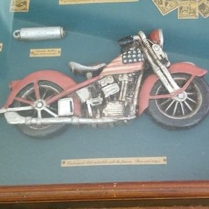 Wall Art - Shadow box of custom 1936 'Stars and Stripes'